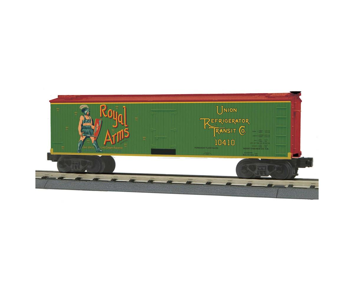 MTH Trains O-27 40' Wood Reefer, Royal Arms