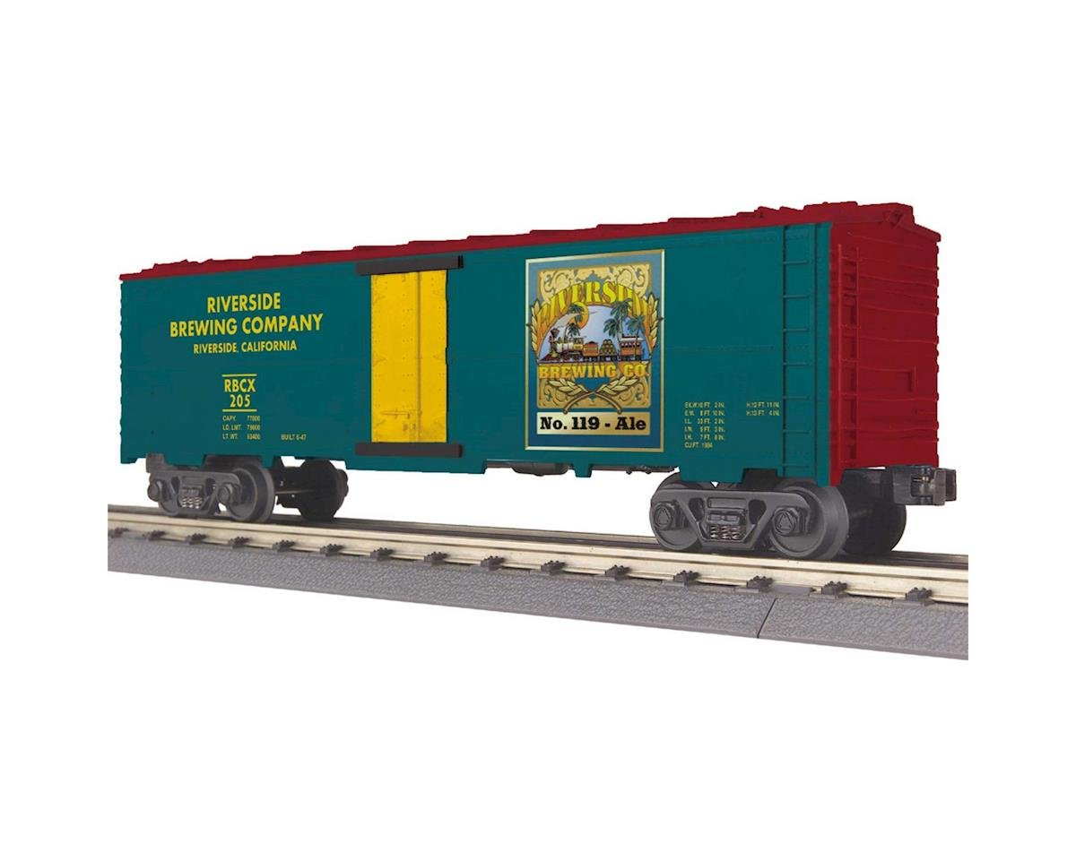 MTH Trains O-27 Modern Reefer, Riverside Brewing #205