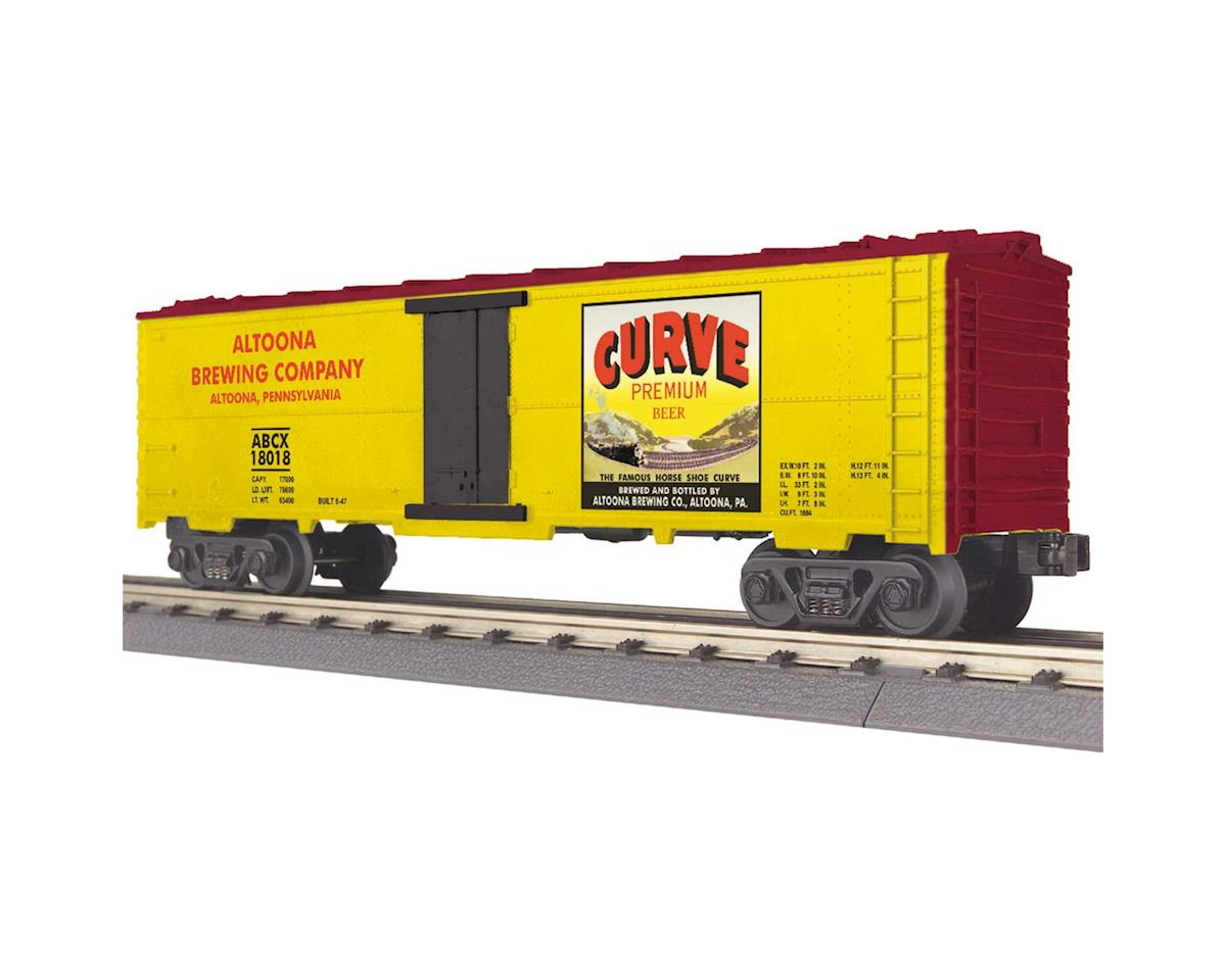 MTH Trains O-27 Modern Reefer, Curve Beer #18018