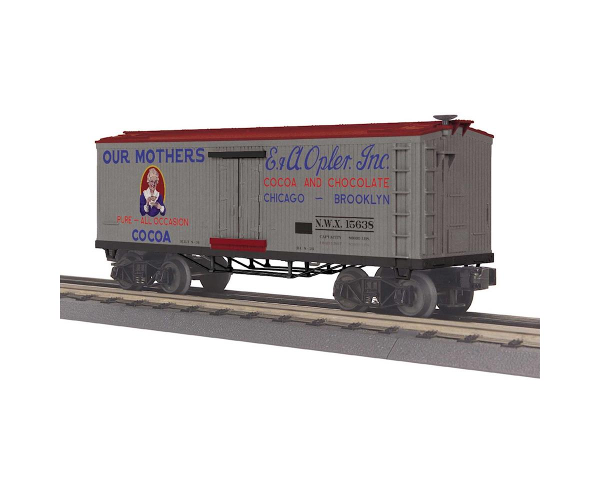 MTH Trains O-27 Old Time Reefer, Our Mothers Cocoa #15638