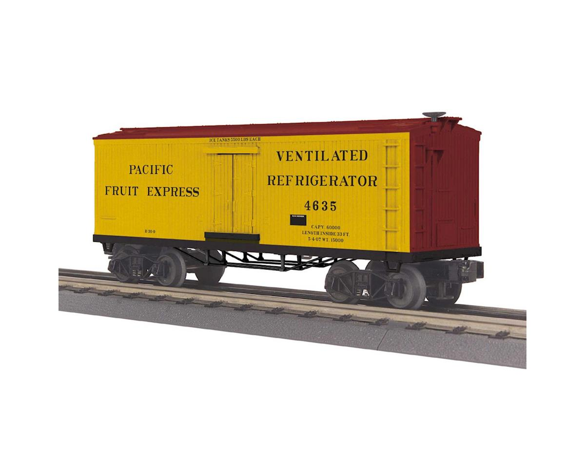 MTH Trains O-27 Old Time Reefer, PFE #4635