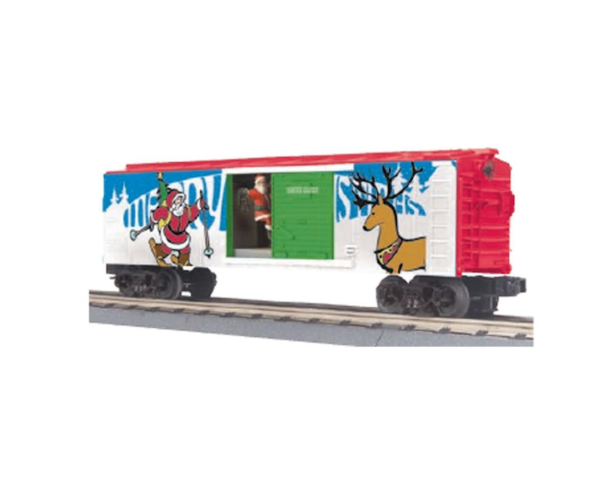MTH Trains O-27 Operating Box w/Santa, Christmas