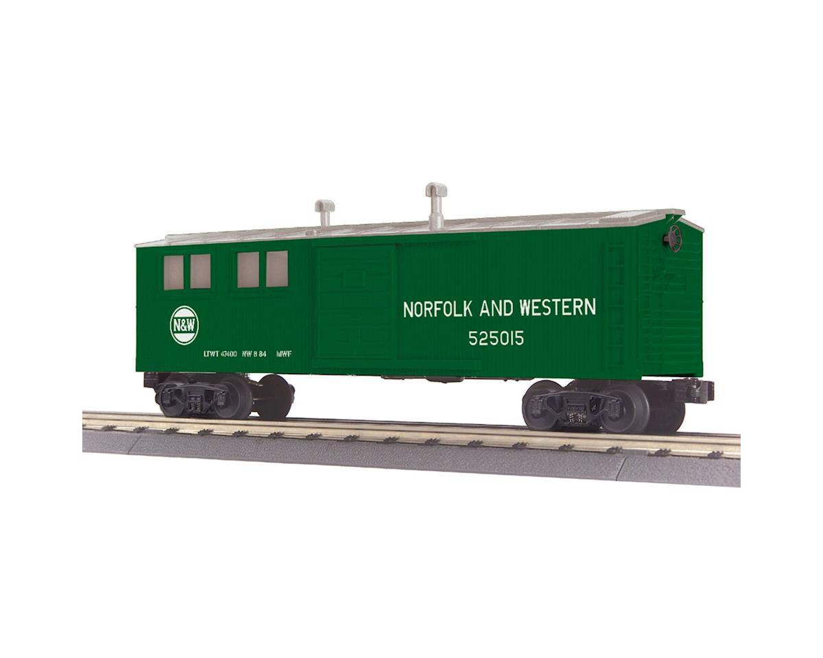 MTH Trains O-27 Engineering Car, N&W