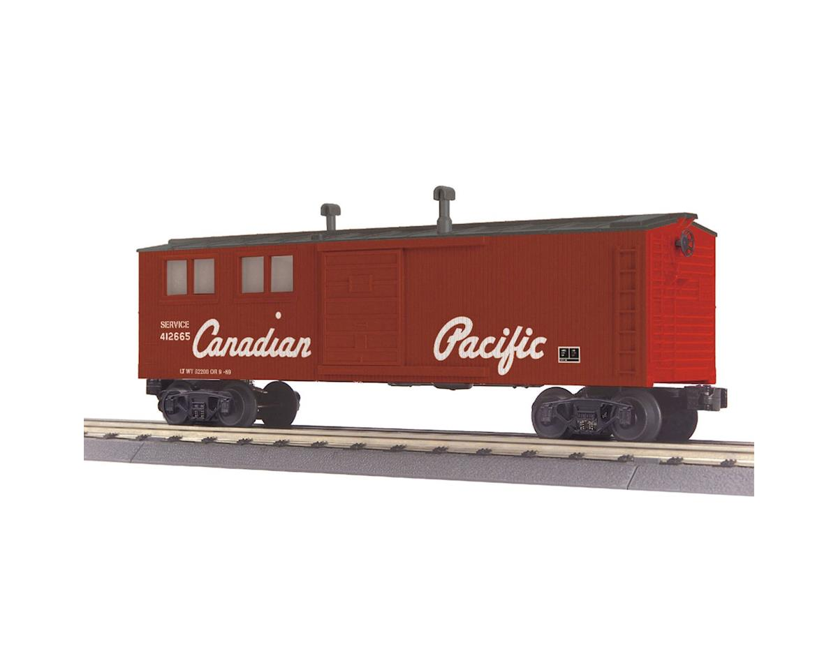 MTH Trains O-27 Engineering Car, CPR