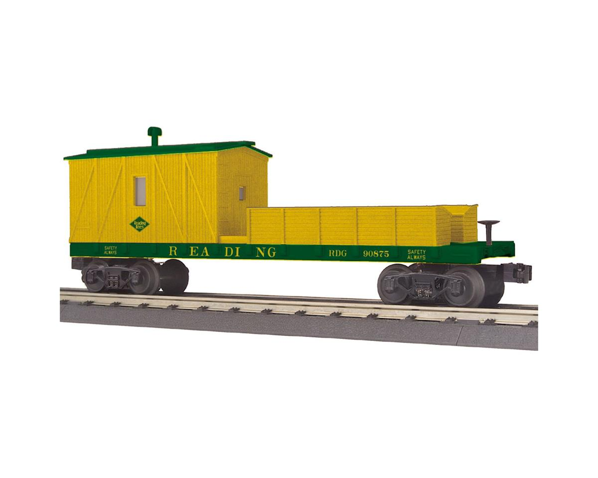 MTH Trains O-27 Crane Tender Car, RDG