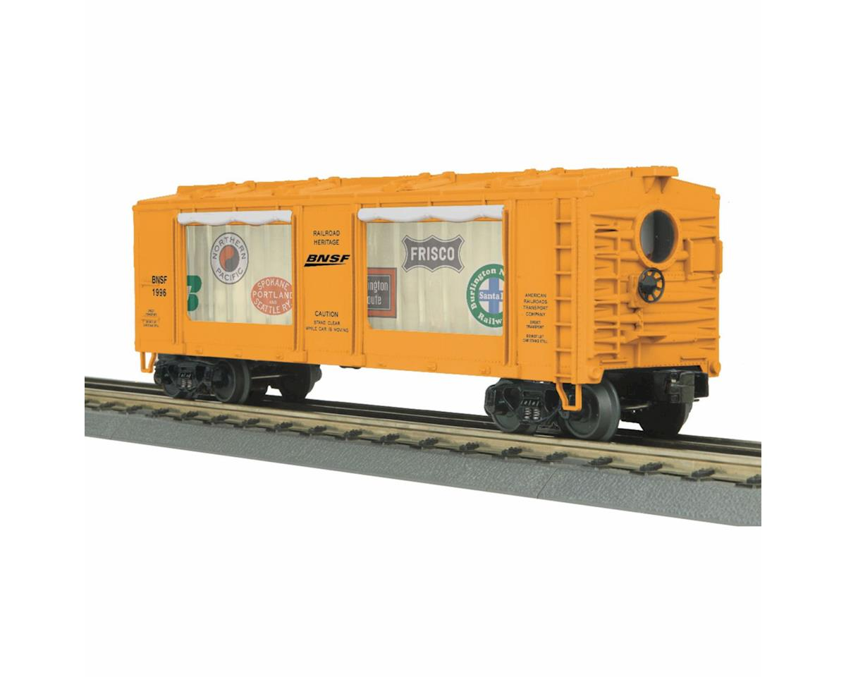 MTH Trains O-27 Operating Action Car, BNSF
