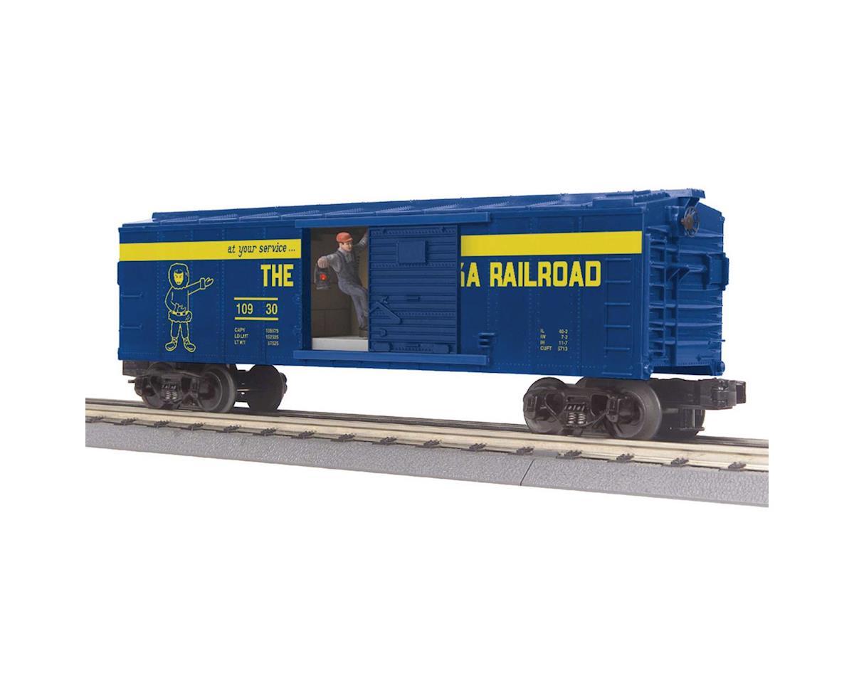MTH Trains O-27 Operating Box w/Signal Man, ARR