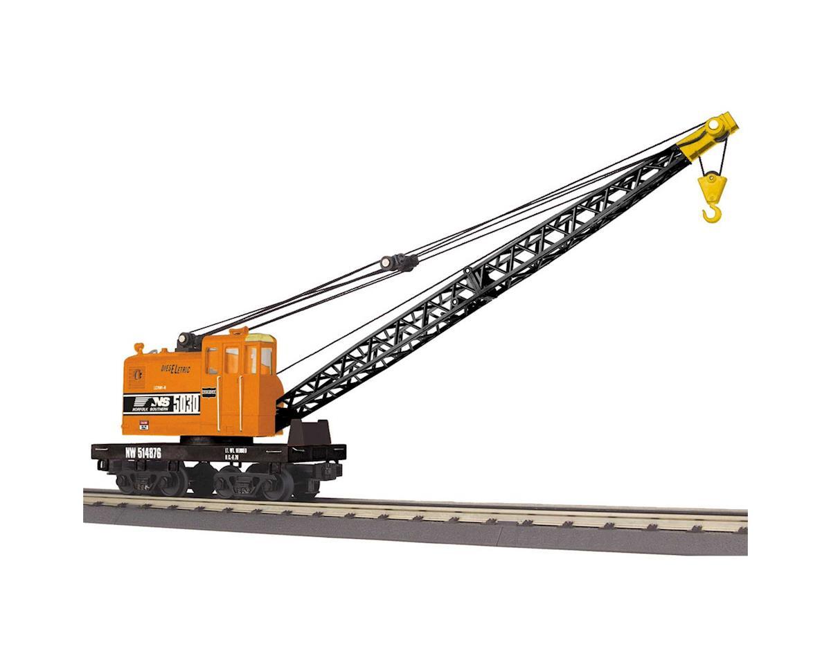 MTH Trains O-27 American Crane Car, NS