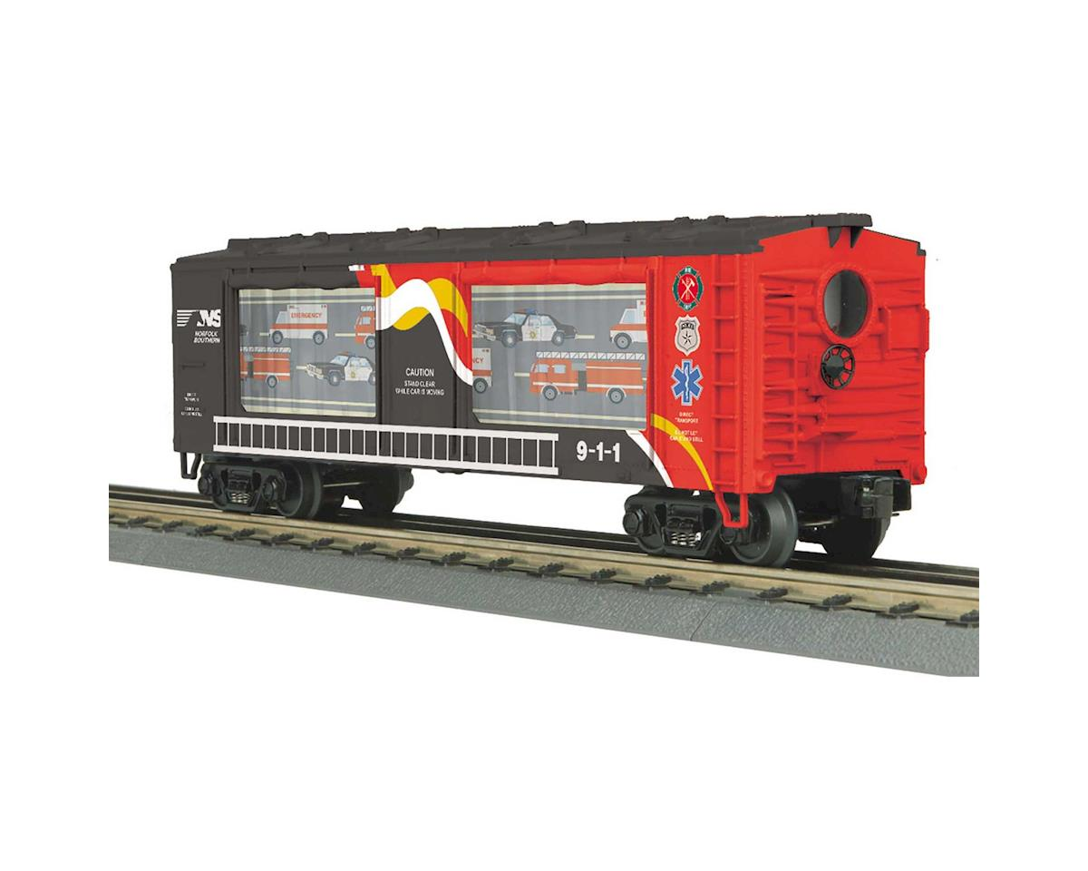 MTH Trains O-27 Operating Action Car, NS/First Responder