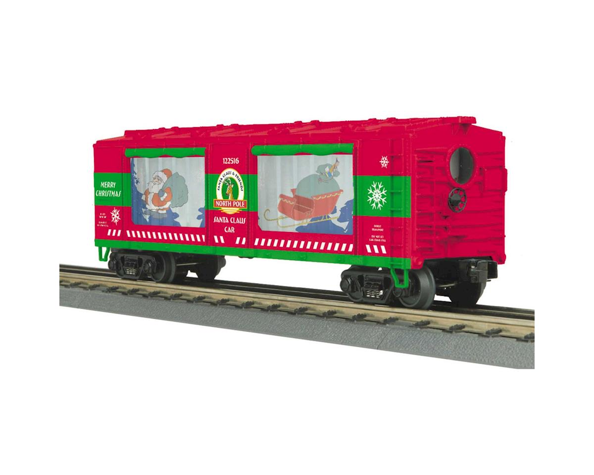 MTH Trains O-27 Operating Action Car, Christmas