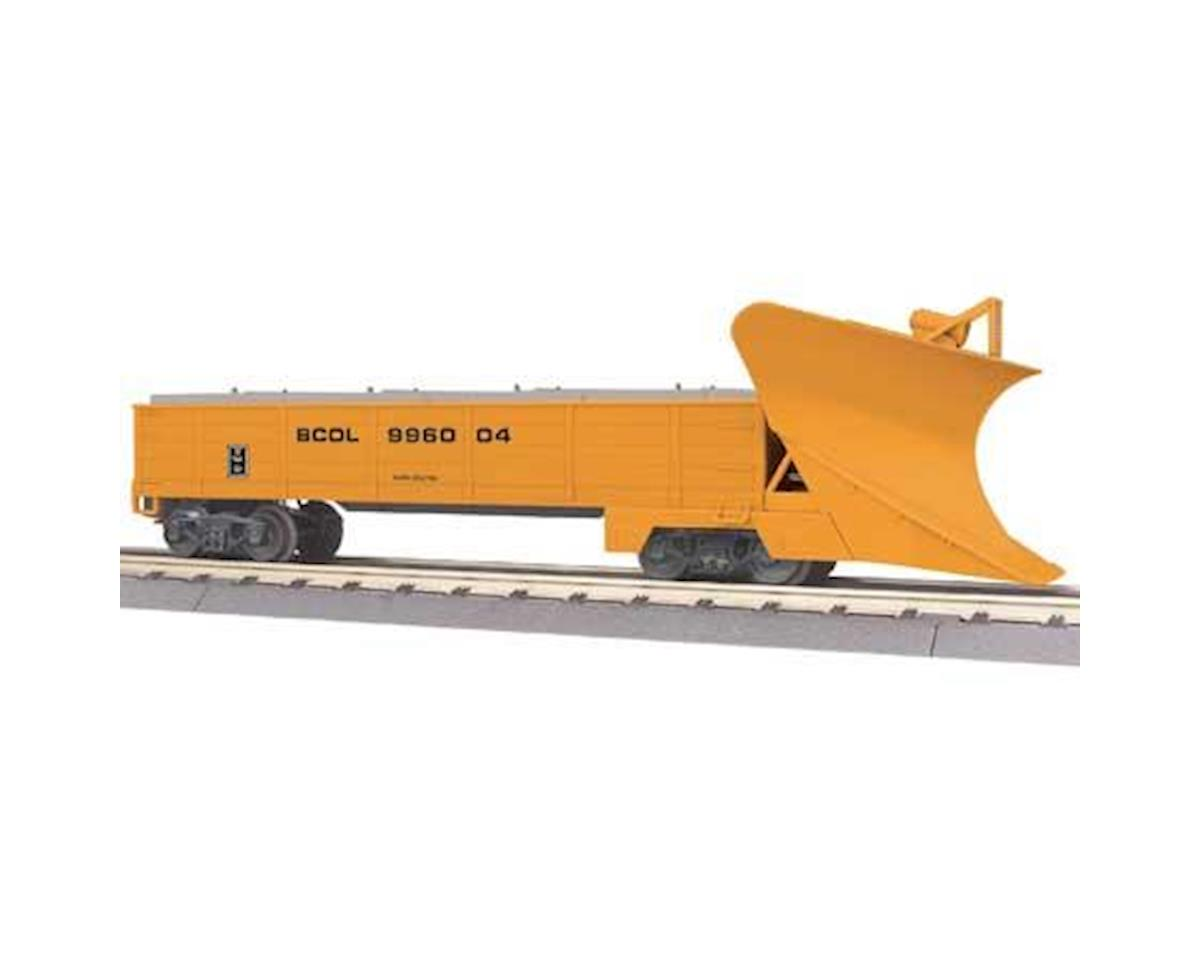MTH Trains O-27 Heavy Duty Snowplow, BCR