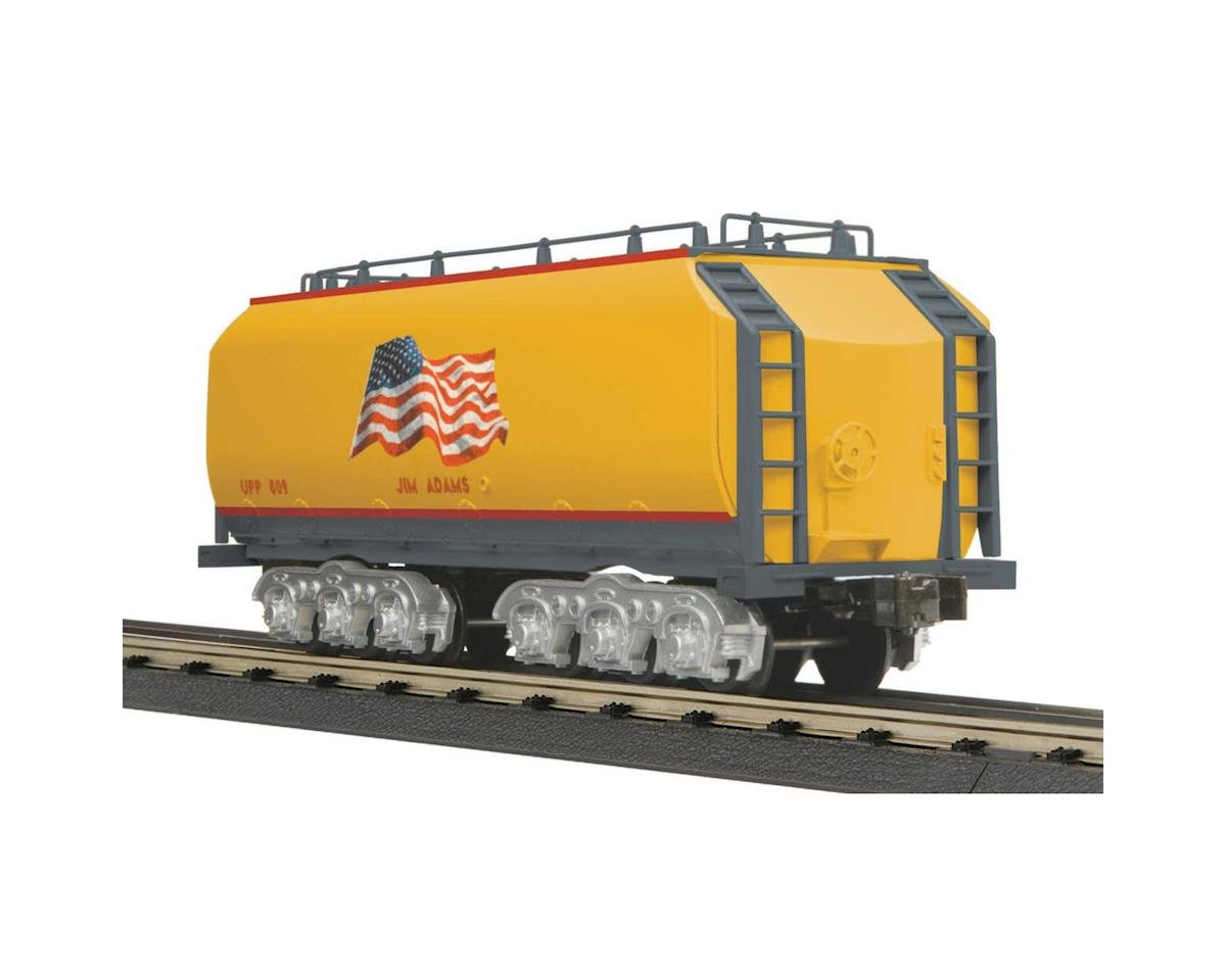 MTH Trains O-27 DC Auxiliary Water Tender, UP/Yellow Flag