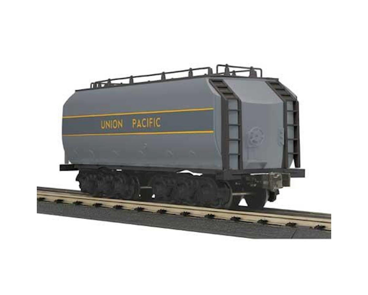 MTH Trains O-27 DC Auxiliary Water Tender, UP/Gray & Yellow