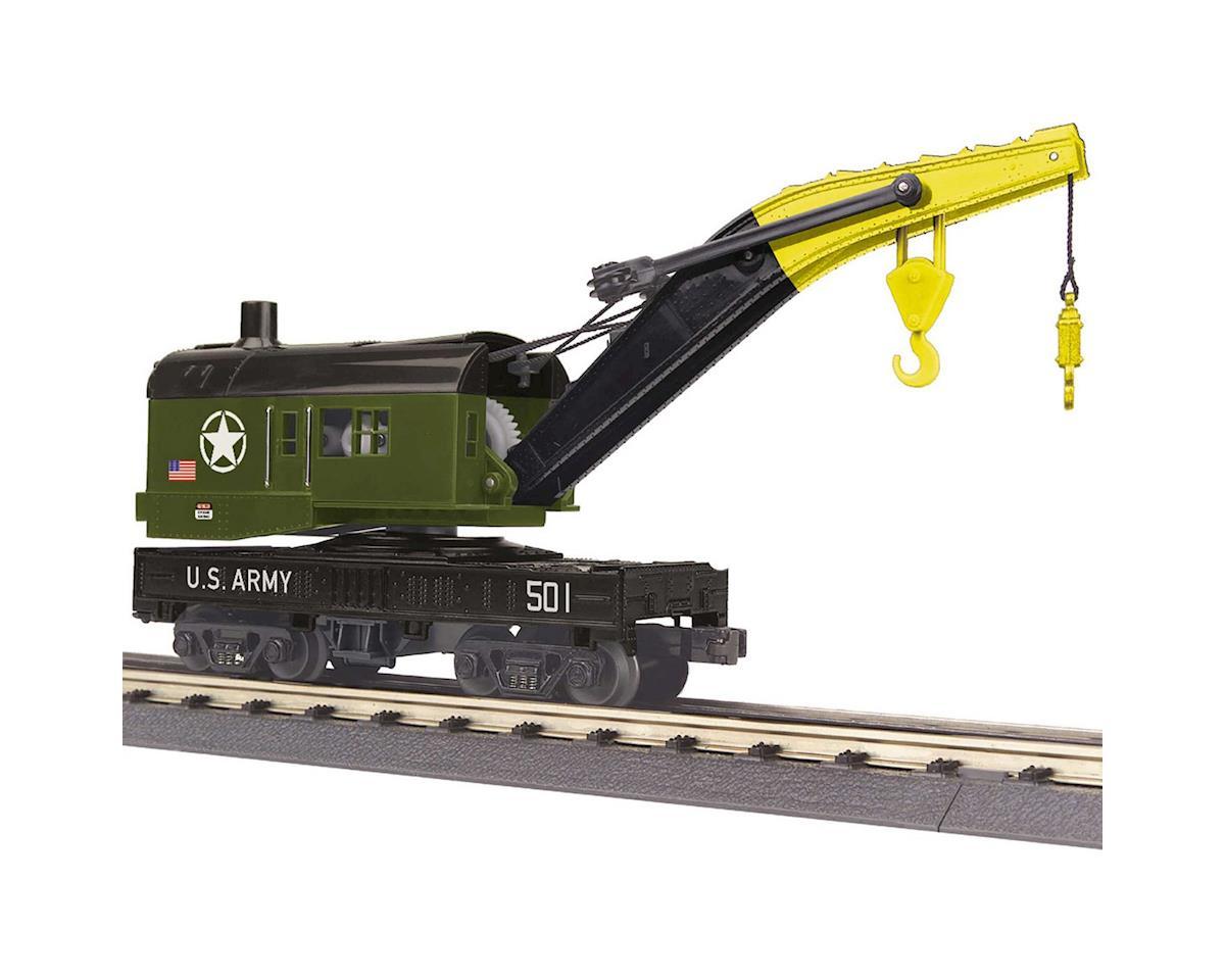 MTH Trains O-27 Crane Car, US Army
