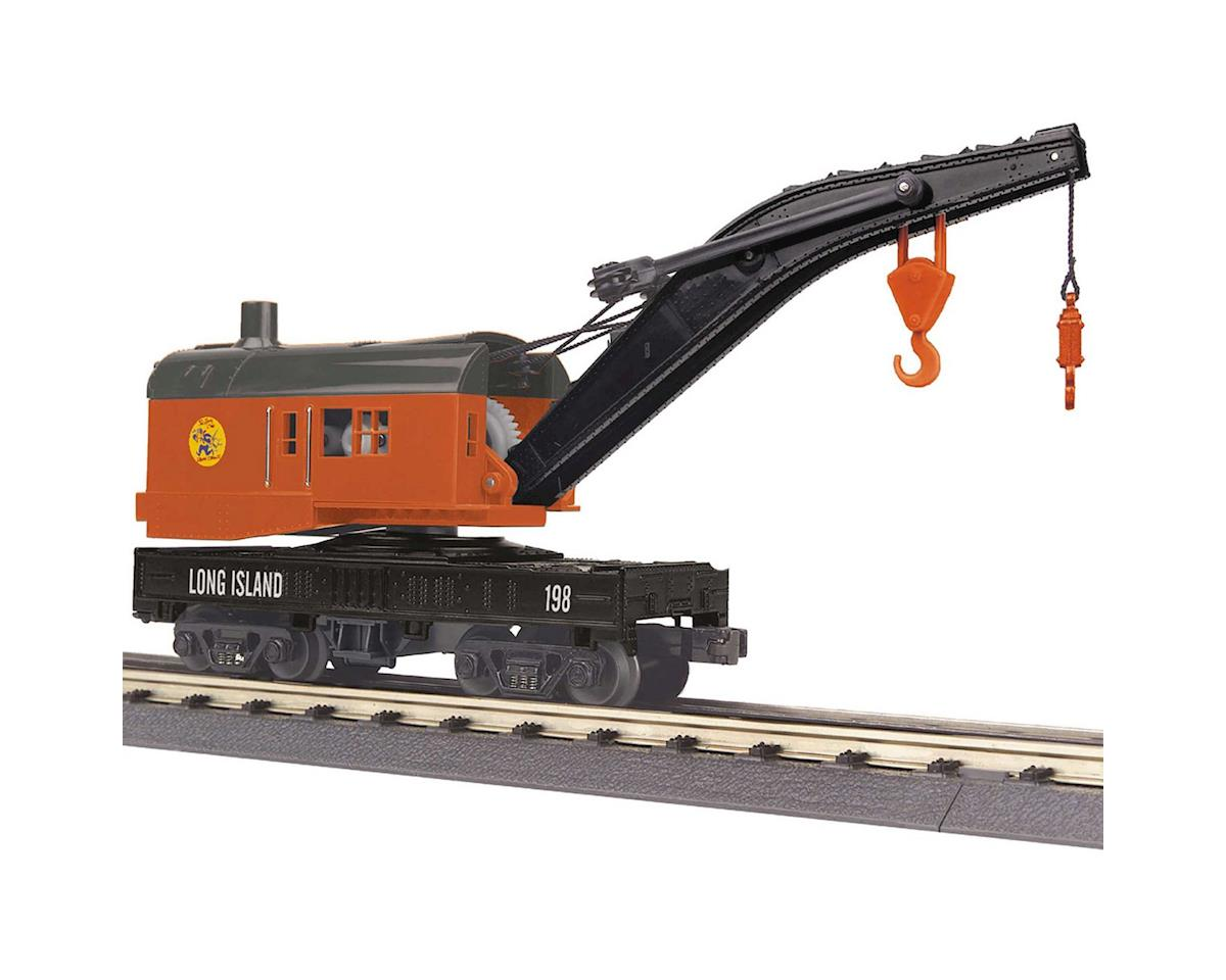 MTH Trains O-27 Crane Car, LIRR