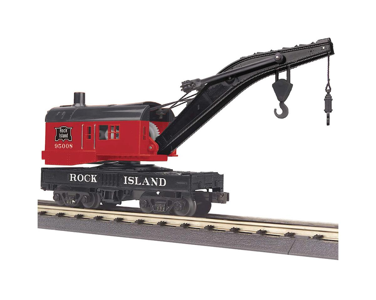 MTH Trains O-27 Crane Car, RI
