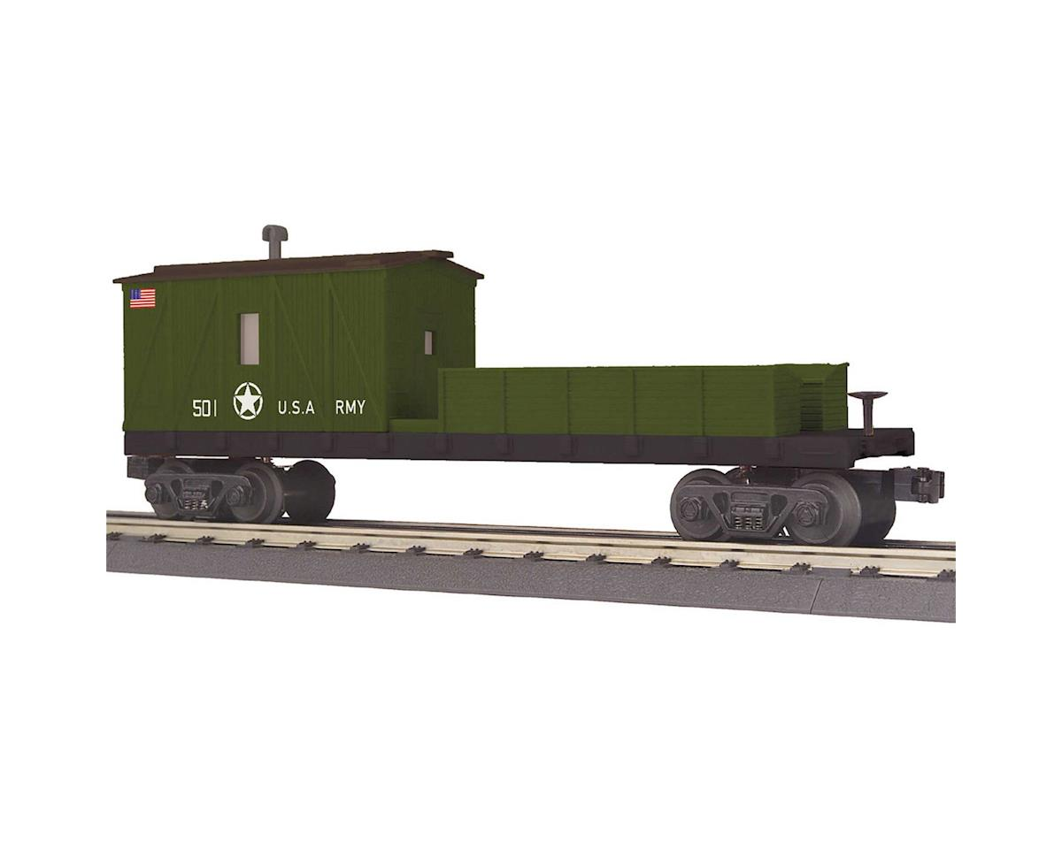 MTH Trains O-27 Crane Tender Car, US Army