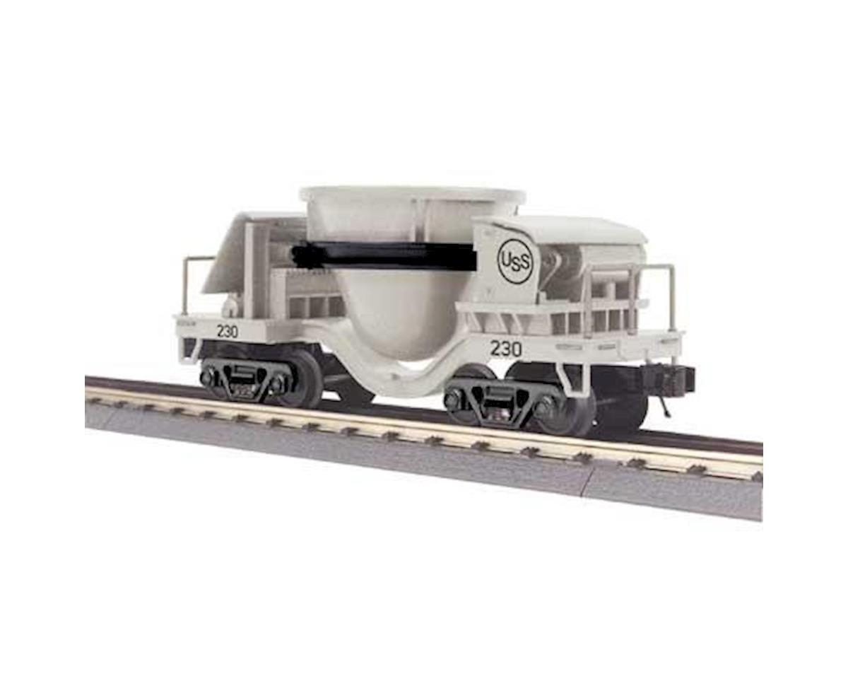 MTH Trains O-27 Slag Car, US Steel #230