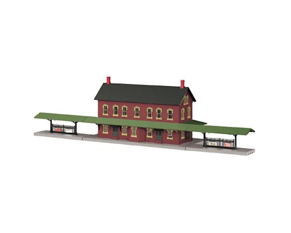 MTH Trains O Passenger Station w/Dual Platforms