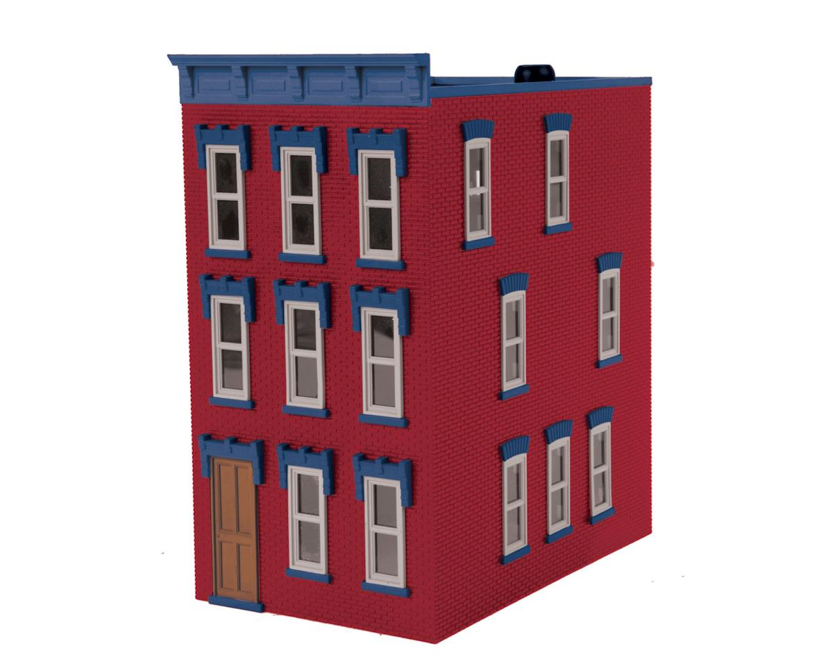 MTH Trains O Town House, Light Tuscan