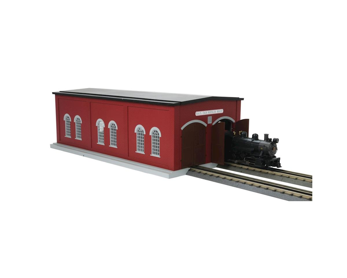 MTH Trains O Dual Stall Engine Shed