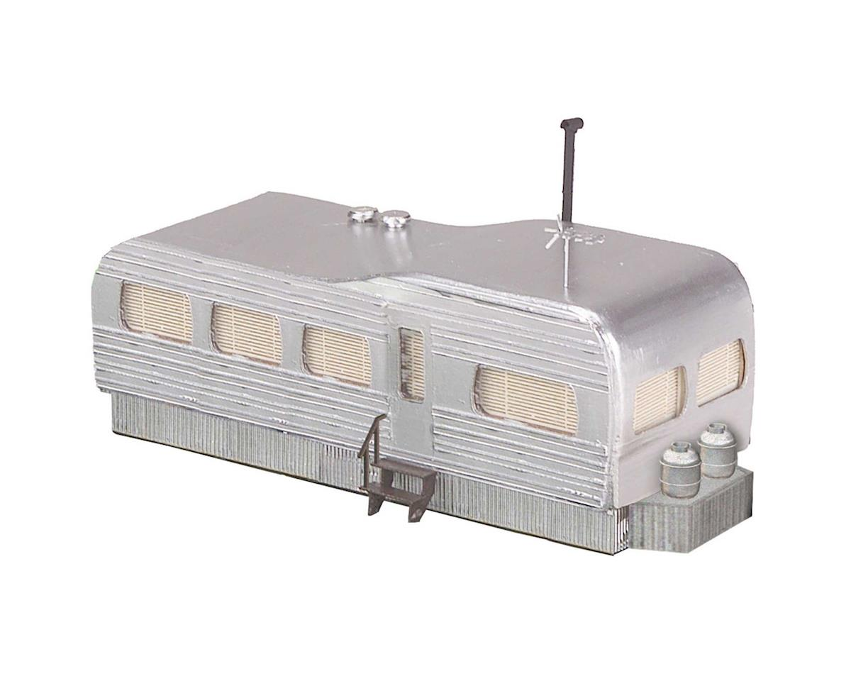 MTH Trains O Stainless Mobile Home