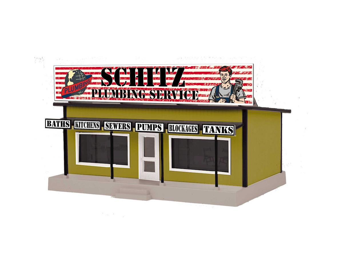 O Road Side Stand, Schlitz Plumbing Service by MTH Trains