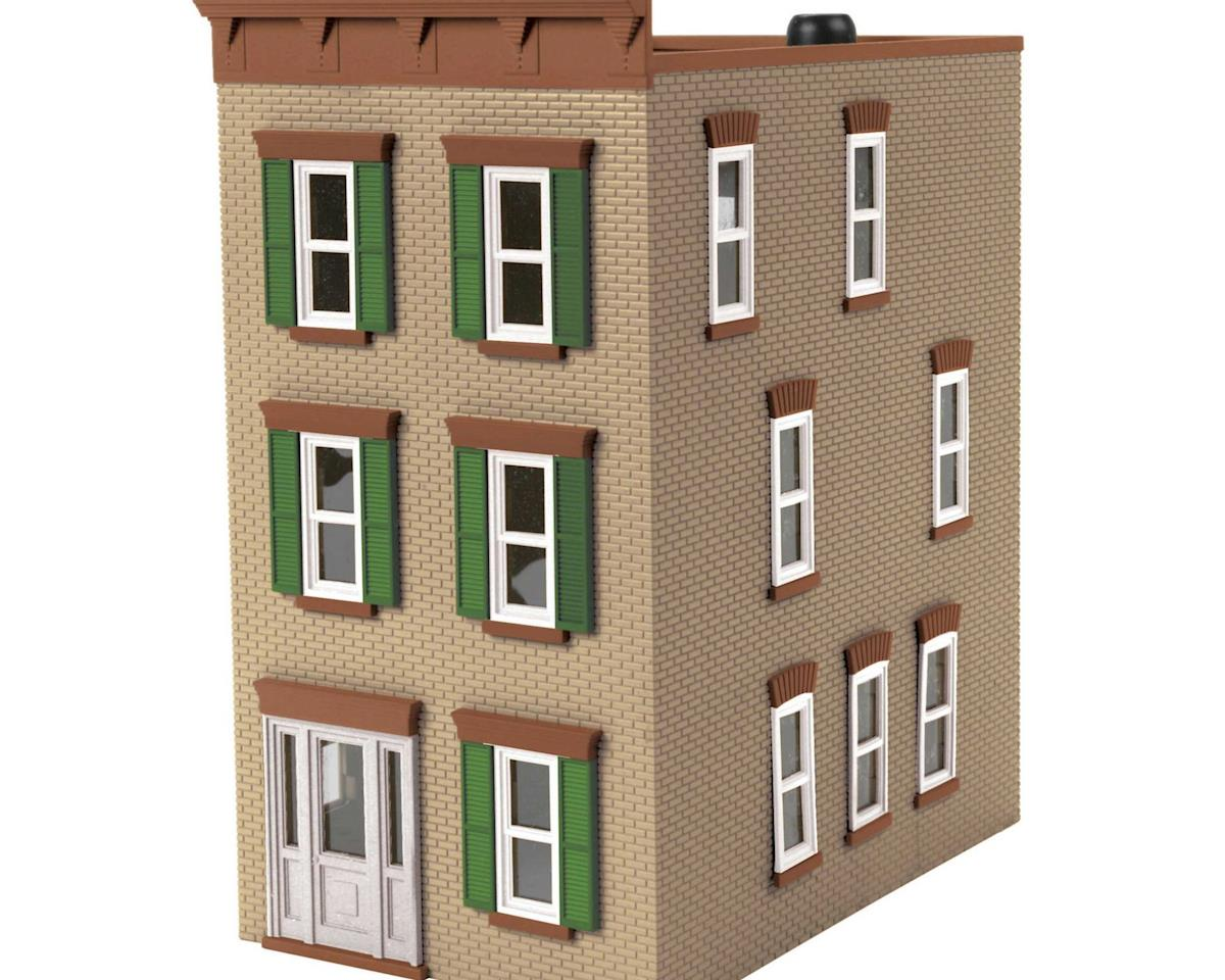 MTH Trains O 3-Story Town House #2, Tan