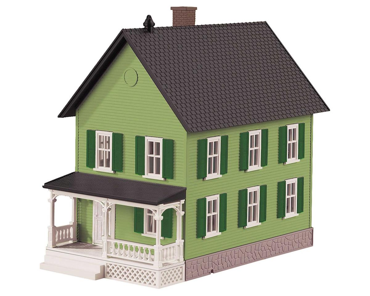 O Row House #2, Green by MTH Trains