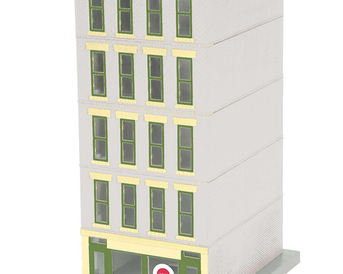 MTH Trains O 5-Story Hotel w/Blinking Sign, Grand Hotel