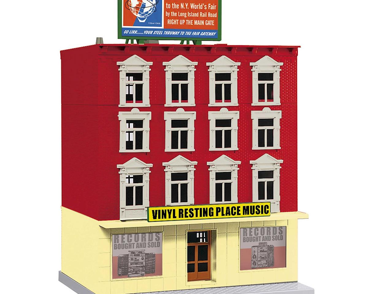 MTH Trains O 4-Story Building, Vinyl Resting Place Music
