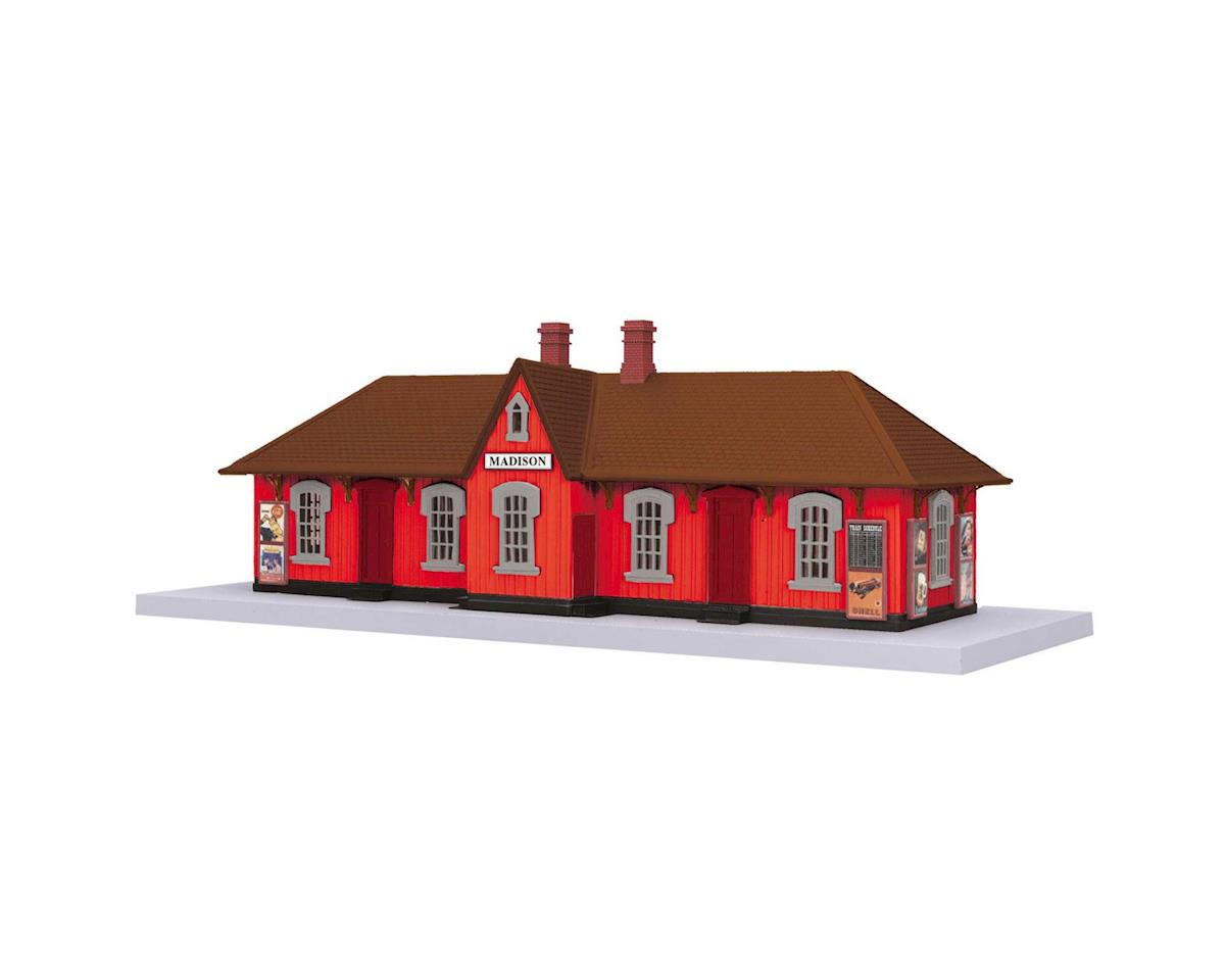 MTH Trains O Passenger Station, Madison Country