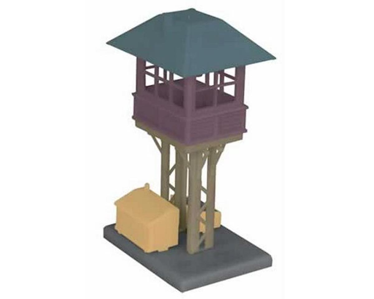 MTH Trains O Elevated Gate Tower, Brown/Black