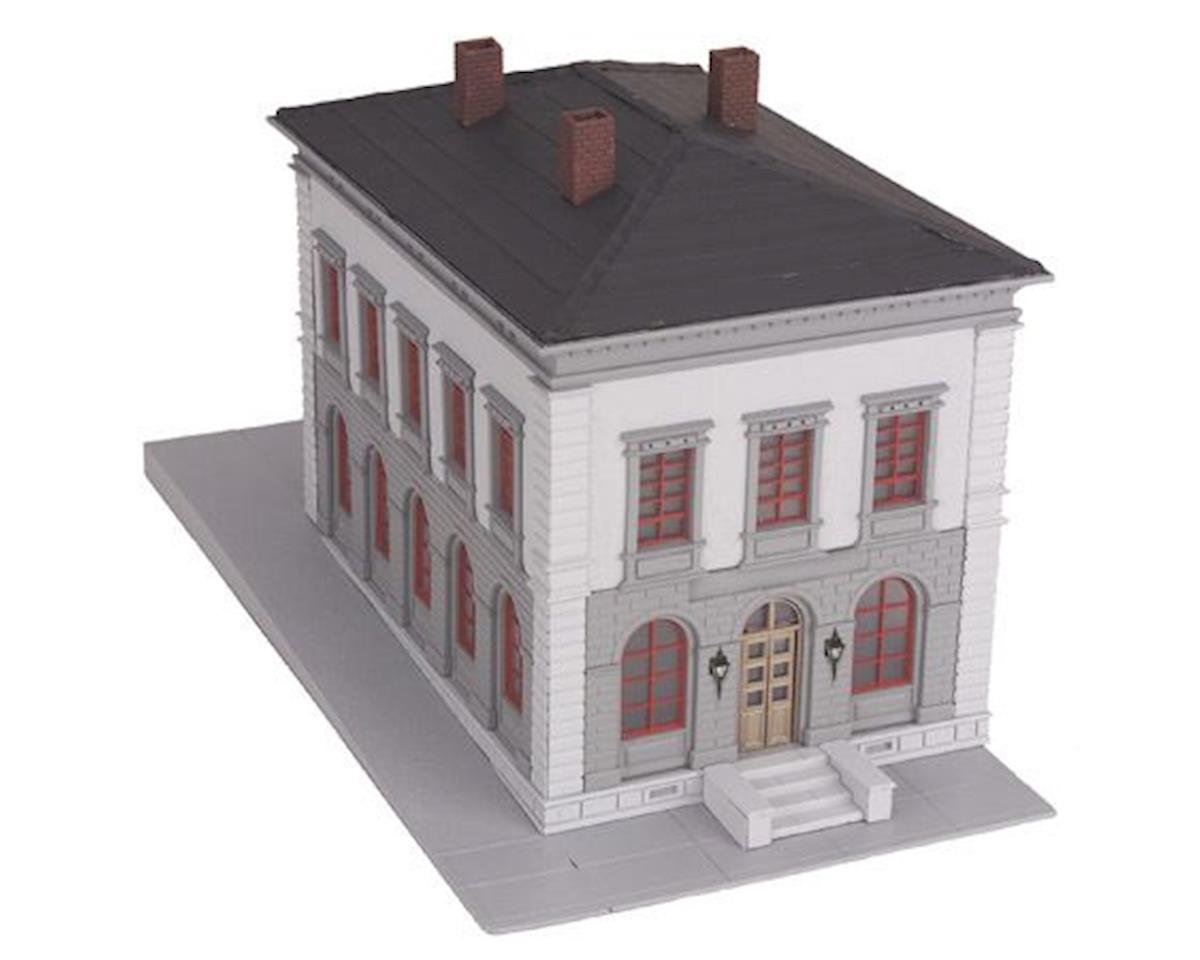MTH Trains O Police Station, Gray/Black