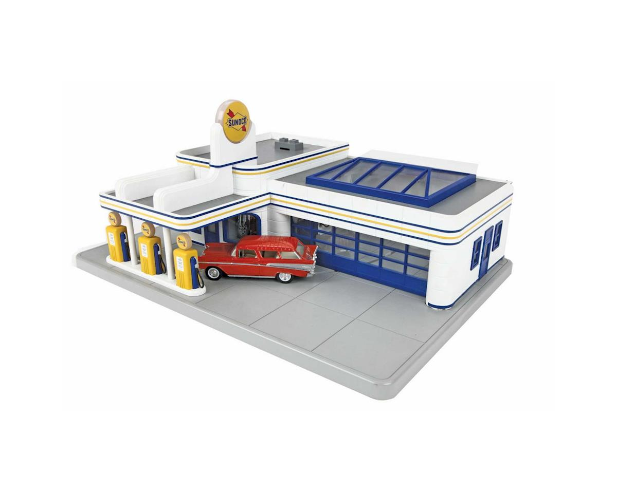 MTH Trains O Operating Gas Station, Sunoco