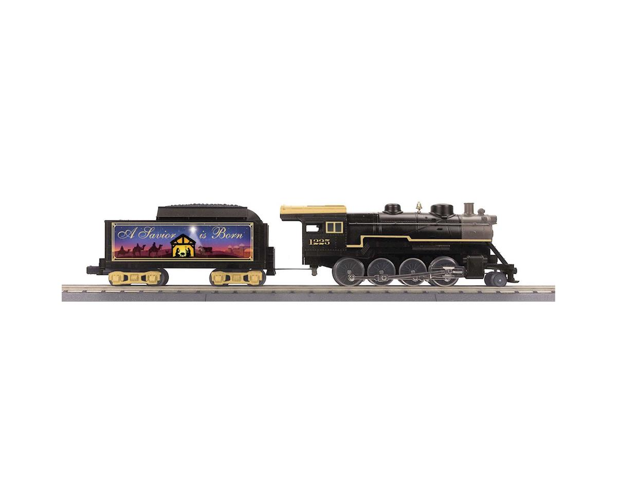 MTH Trains O-27 2-8-0 w/PS3, Christmas