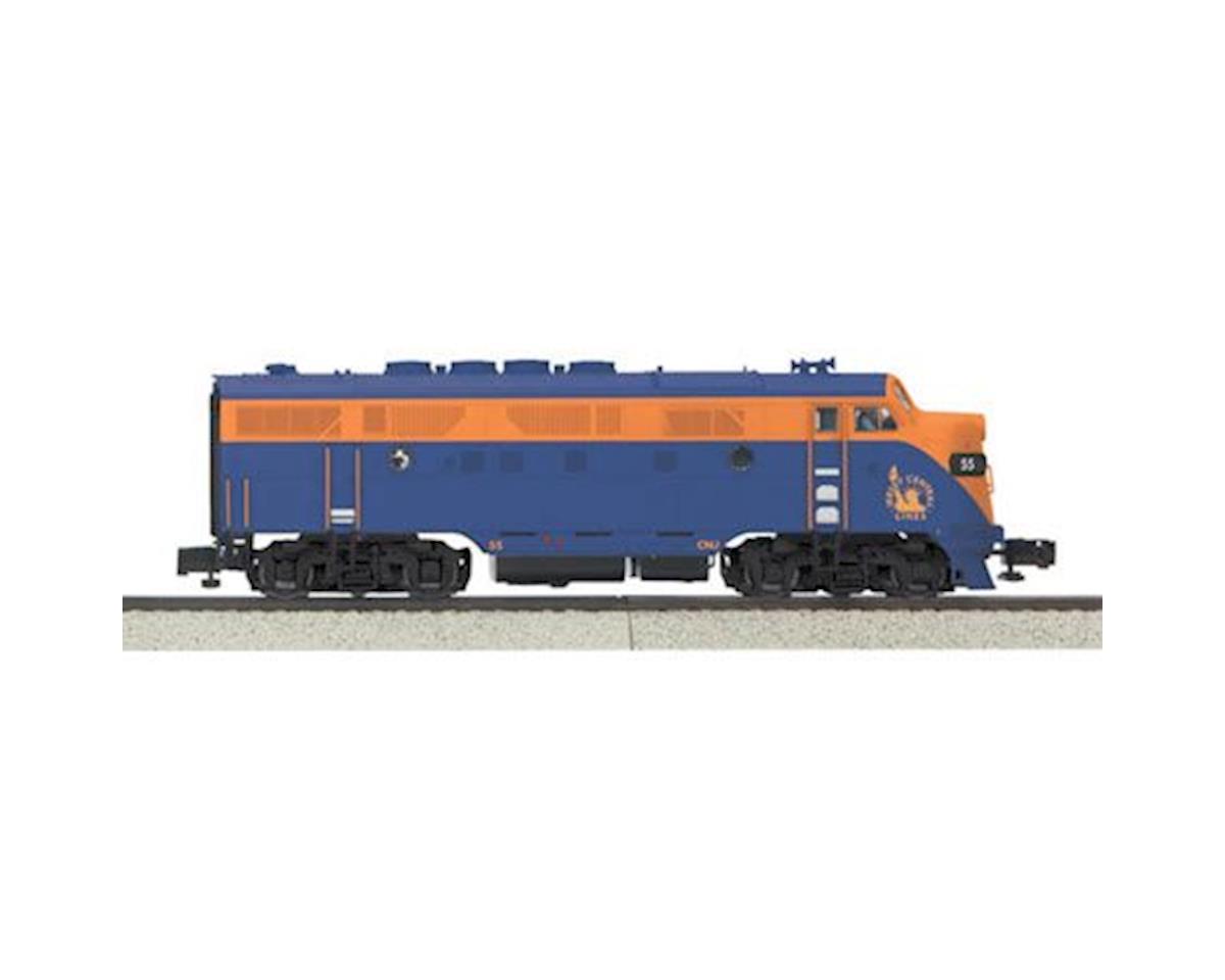MTH Trains S F3A w/PS3, CNJ #55