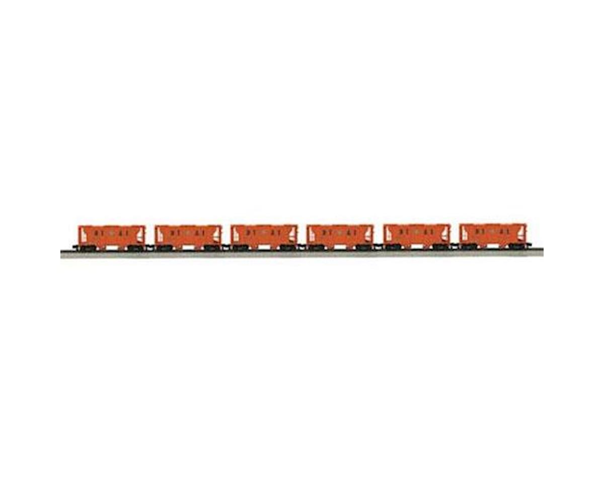 MTH Trains S PS-2 Hopper, DT&I (6)