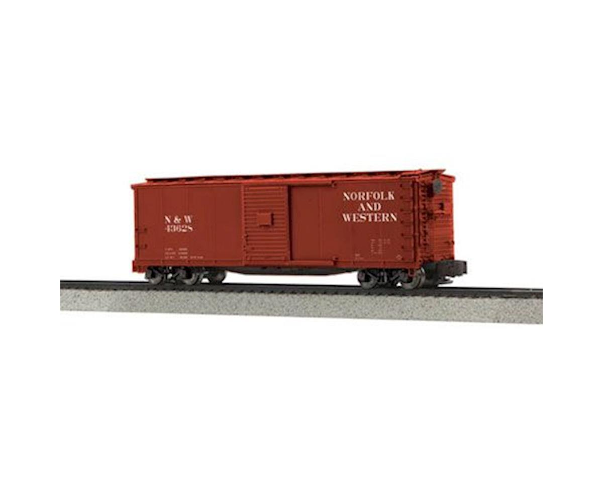 MTH Trains S Rebuilt Steel Box, N&W #43628