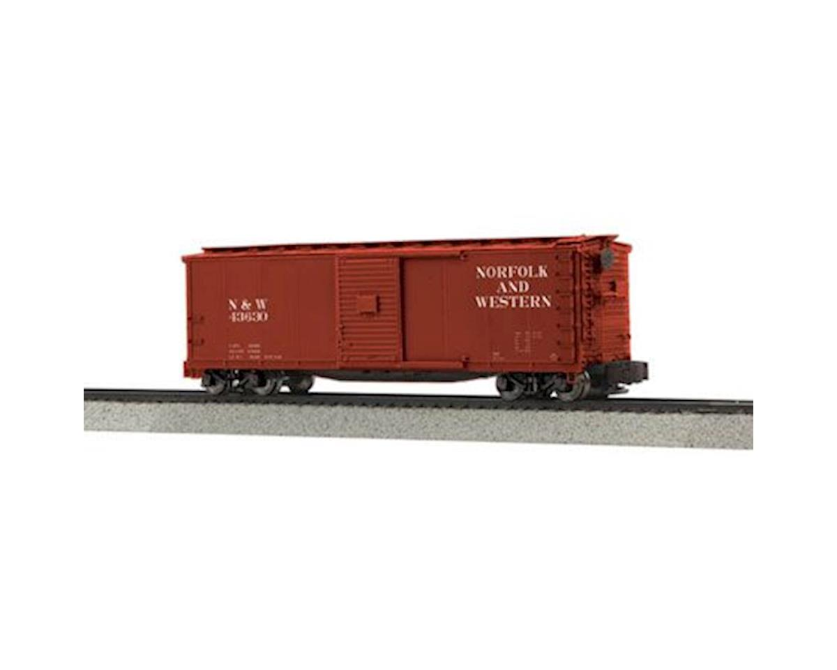 MTH Trains S Rebuilt Steel Box, N&W #43630