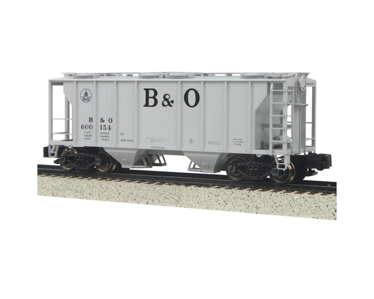 MTH Trains S PS-2 2-Bay Hopper, B&O # 600154