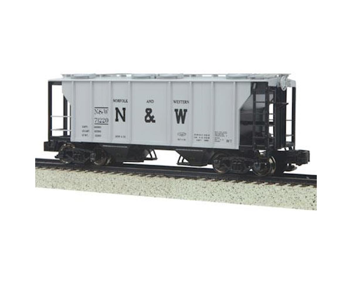 MTH Trains S PS-2 2-Bay Hopper, N&W #71220