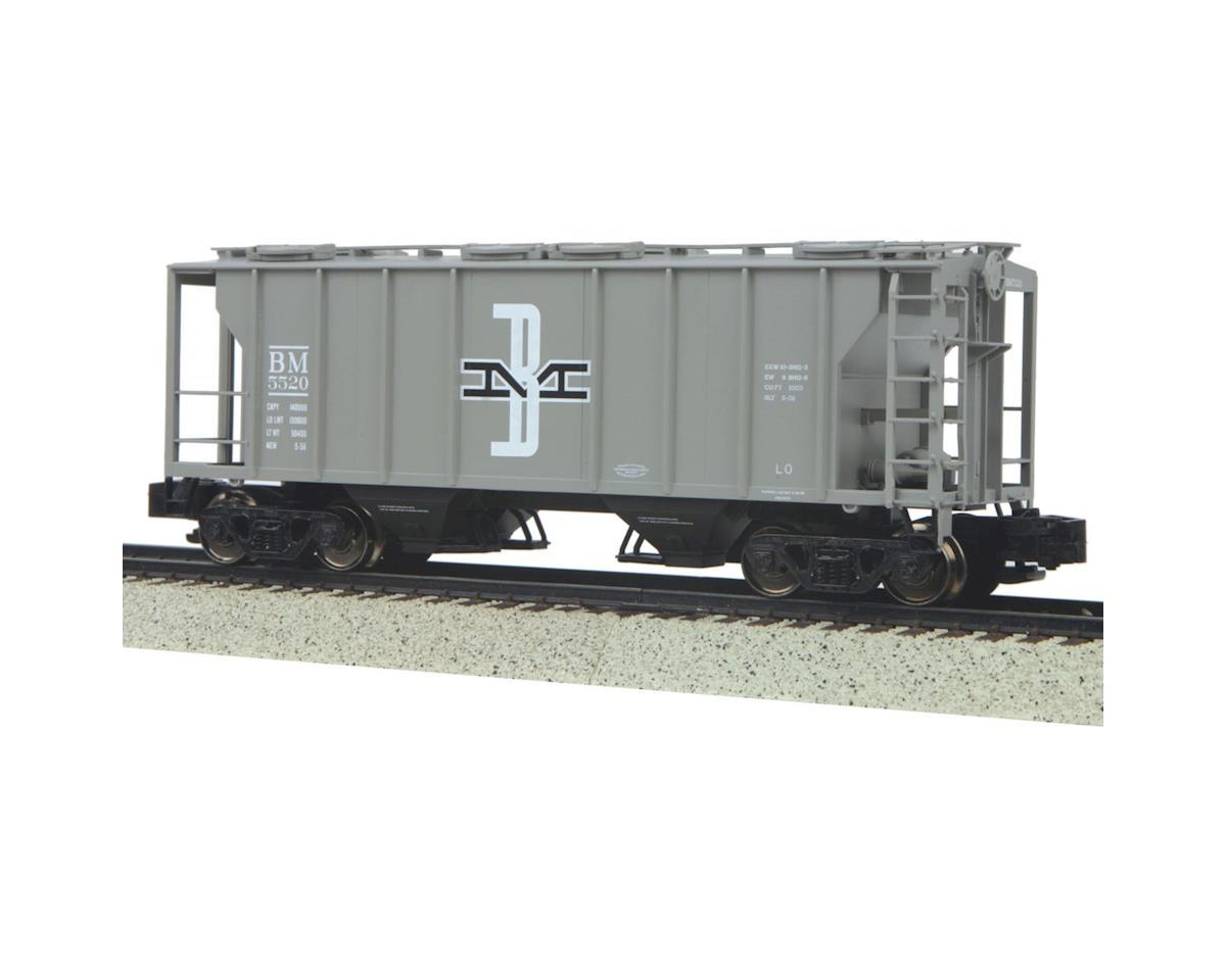 MTH Trains S PS-2 2-Bay Hopper, B&M #5520