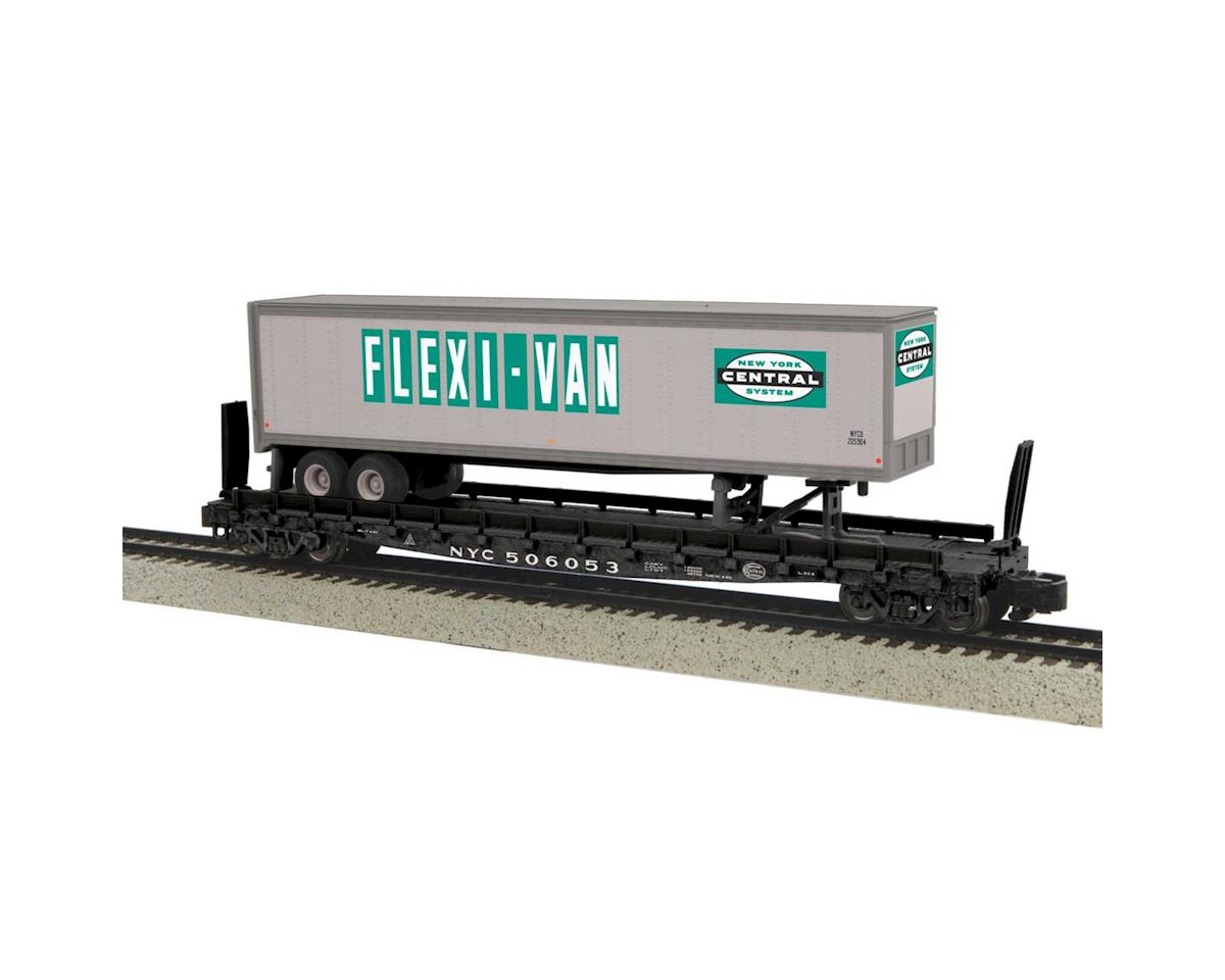 MTH Trains S Flat w/48' Trailer, NYC #506053