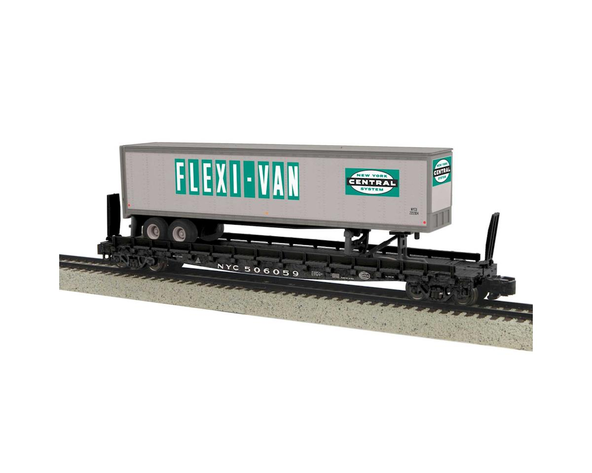 MTH Trains S Flat w/48' Trailer, NYC #506059