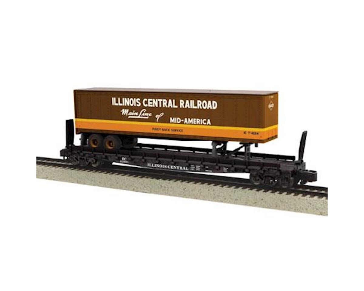 MTH Trains S Scale Flat w/48' Trailer, IC #62813