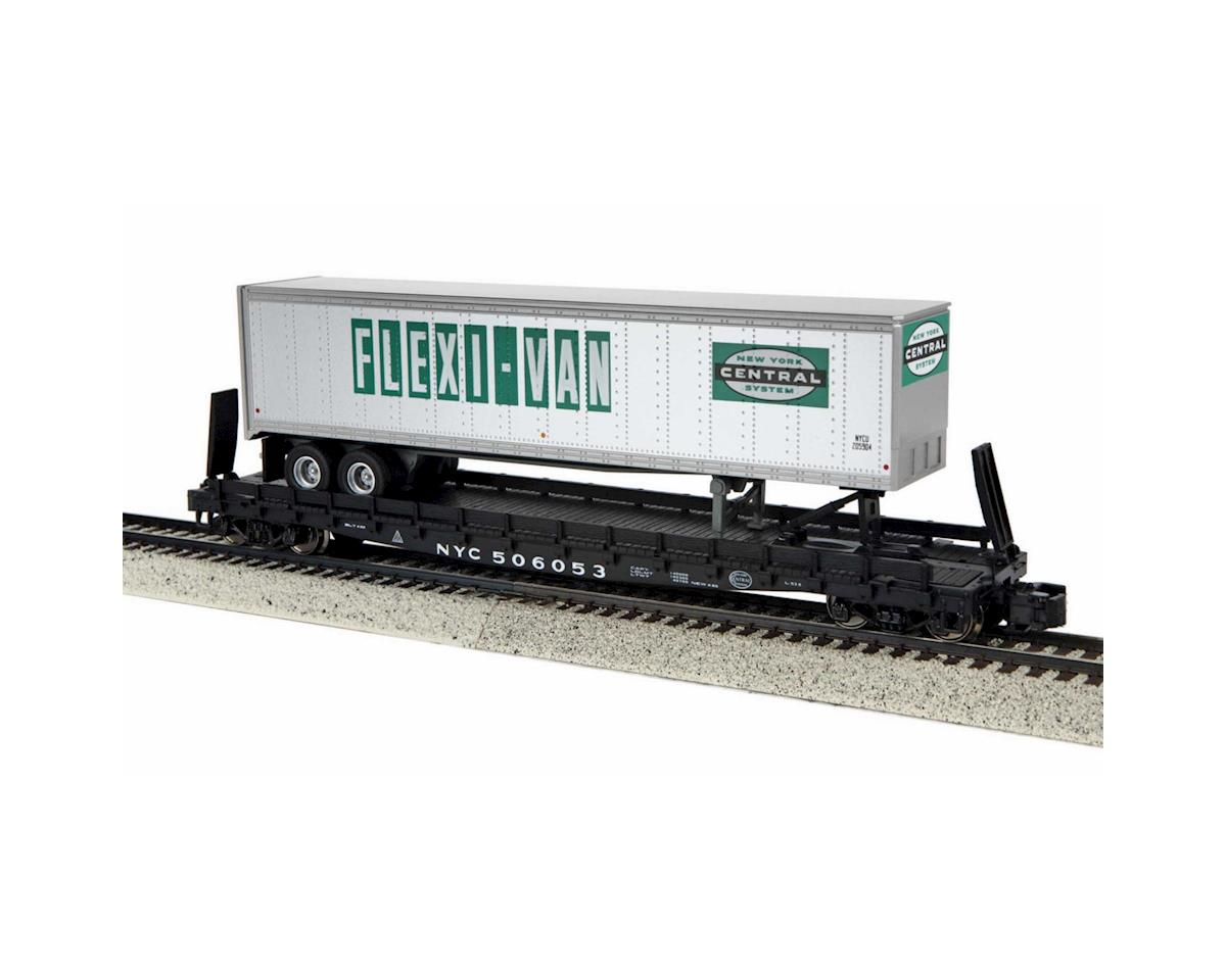 MTH Trains S Scale Flat w/48' Trailer, NYC #506053