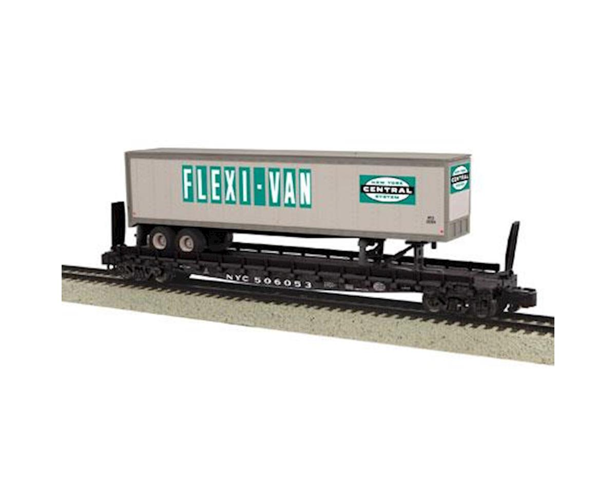 MTH Trains S Scale Flat w/48' Trailer, NYC #506059