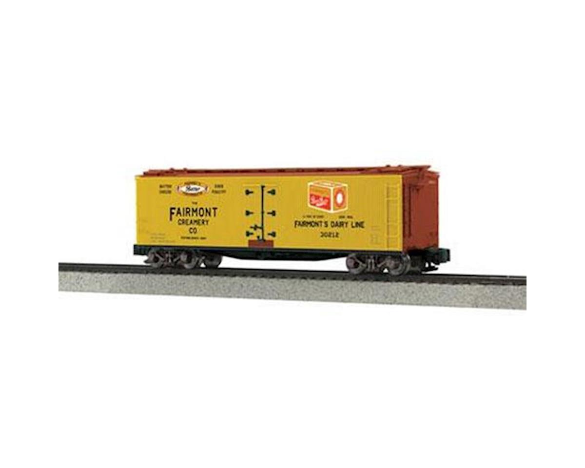 MTH Trains S 40' Wood Reefer, Fairmont Creamery #30212