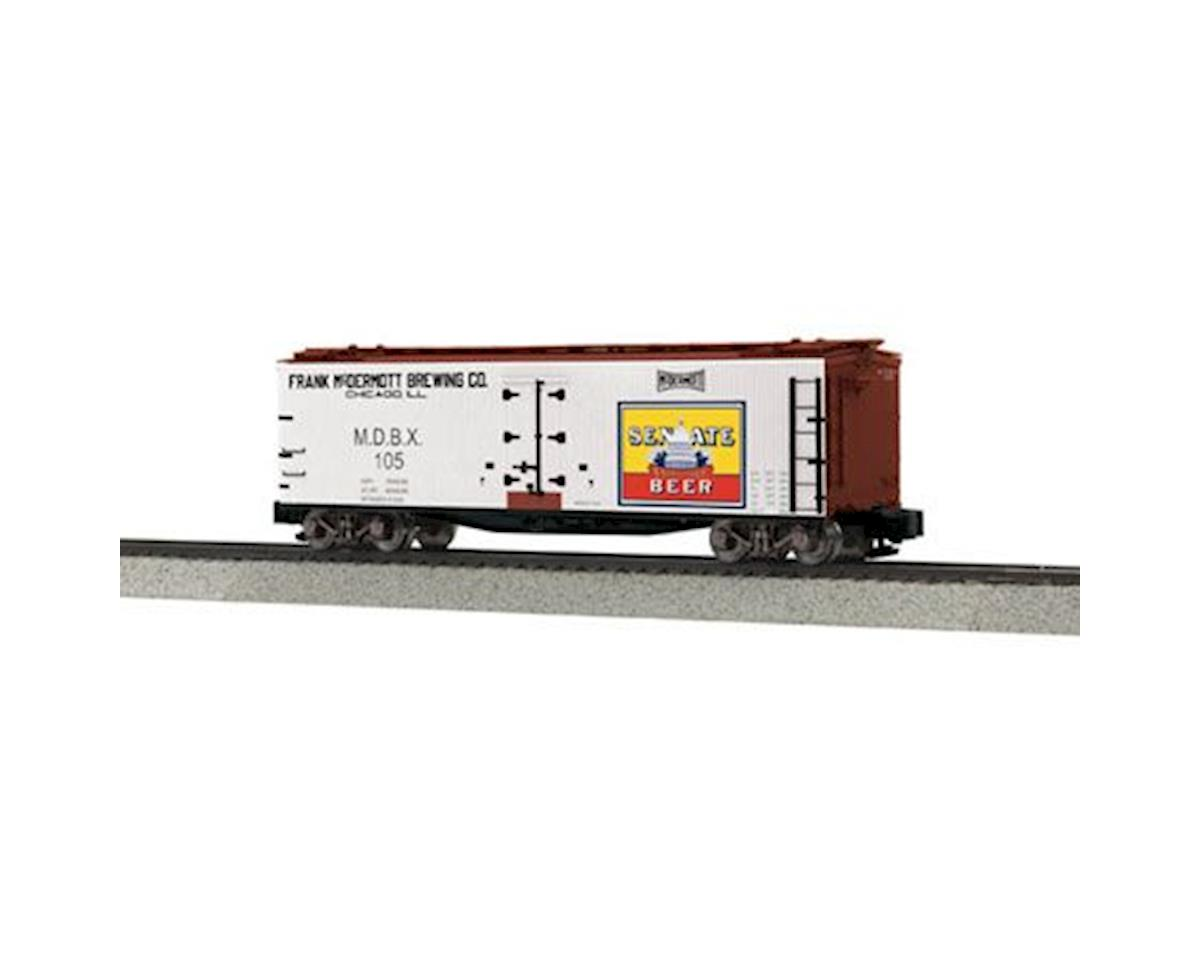 MTH Trains S 40' Wood Reefer, Senate Beer #105